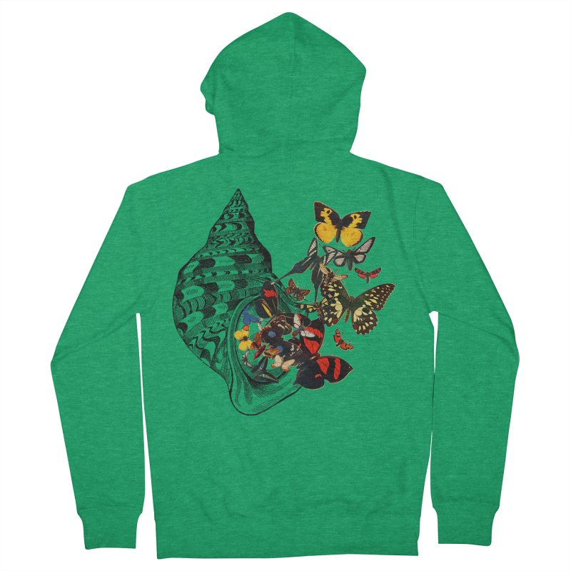 Beauty Within Men's Zip-Up Hoody by Wild Roots Artist Shop