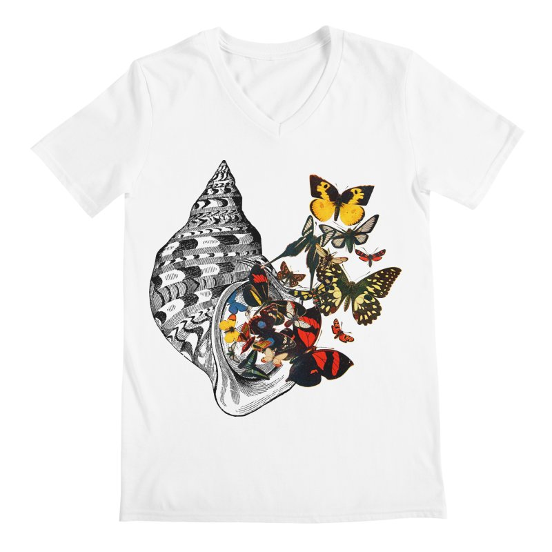 Beauty Within Men's V-Neck by Wild Roots Artist Shop