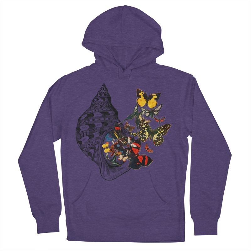 Beauty Within Women's French Terry Pullover Hoody by Wild Roots Artist Shop