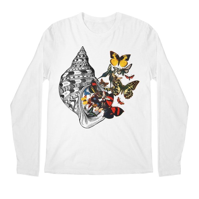 Beauty Within Men's Regular Longsleeve T-Shirt by Wild Roots Artist Shop