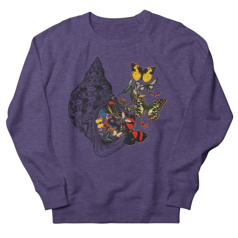 Beauty Within Men's French Terry Sweatshirt by Wild Roots Artist Shop