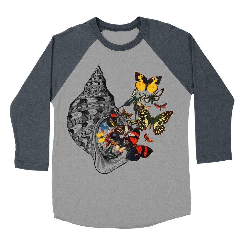Beauty Within Women's Baseball Triblend Longsleeve T-Shirt by Wild Roots Artist Shop