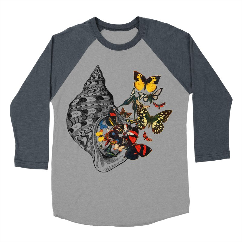 Beauty Within Men's Baseball Triblend Longsleeve T-Shirt by Wild Roots Artist Shop