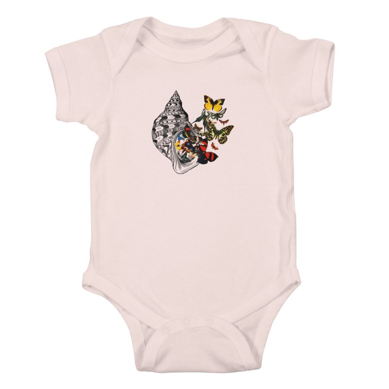 Beauty Within Kids Baby Bodysuit by Wild Roots Artist Shop