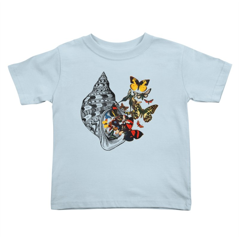 Beauty Within Kids Toddler T-Shirt by Wild Roots Artist Shop