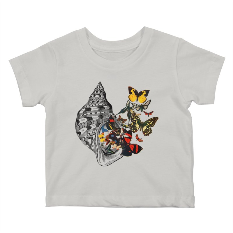 Beauty Within Kids Baby T-Shirt by Wild Roots Artist Shop