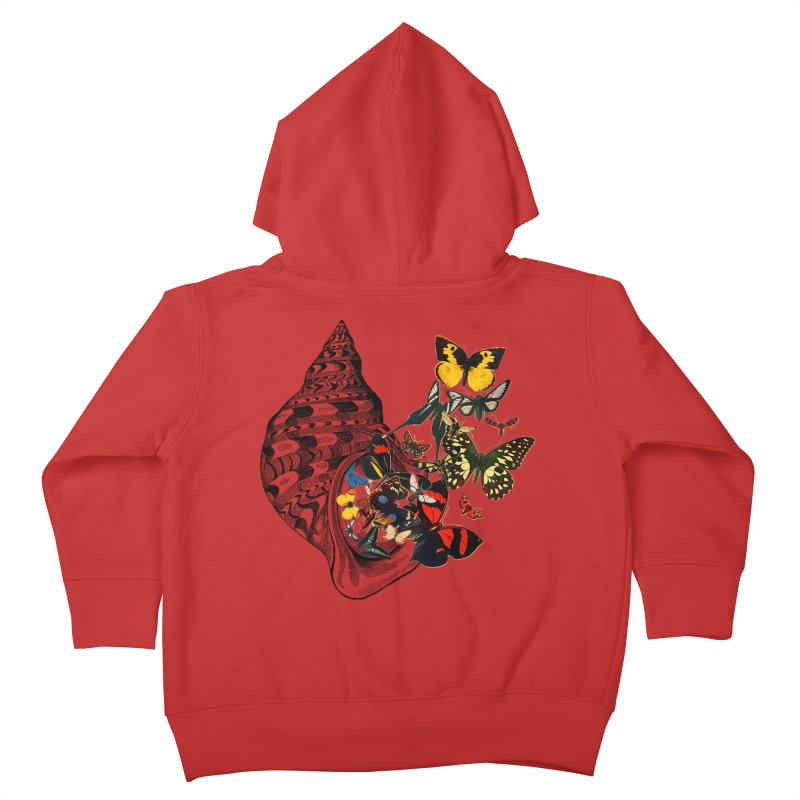 Beauty Within Kids Toddler Zip-Up Hoody by Wild Roots Artist Shop