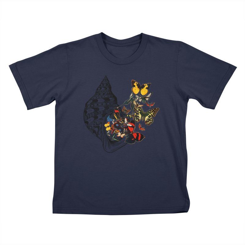 Beauty Within Kids T-Shirt by Wild Roots Artist Shop