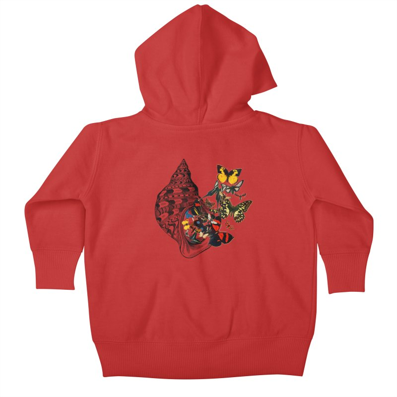 Beauty Within Kids Baby Zip-Up Hoody by Wild Roots Artist Shop