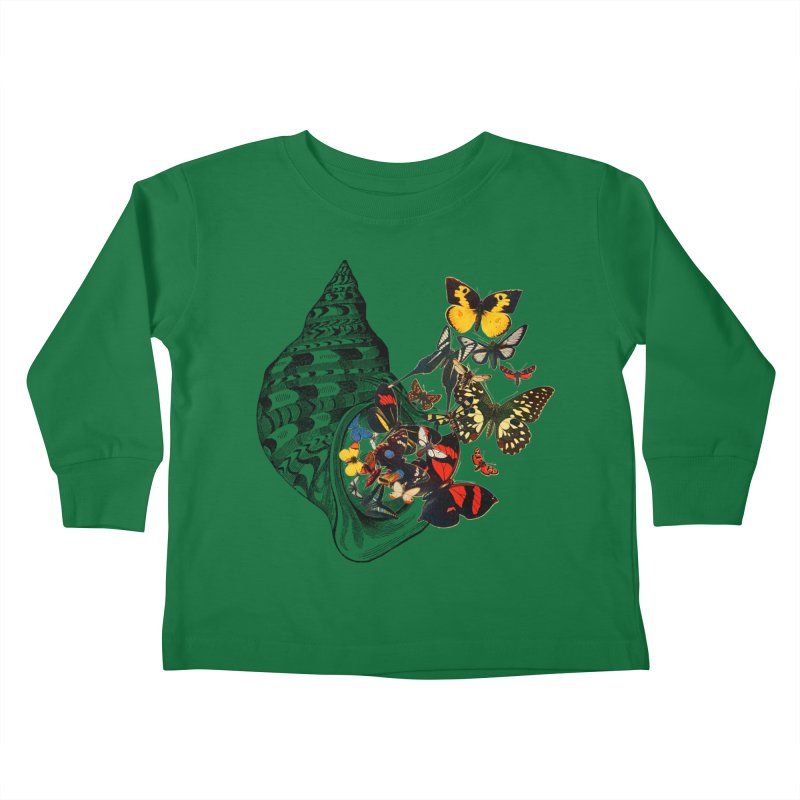Beauty Within Kids Toddler Longsleeve T-Shirt by Wild Roots Artist Shop