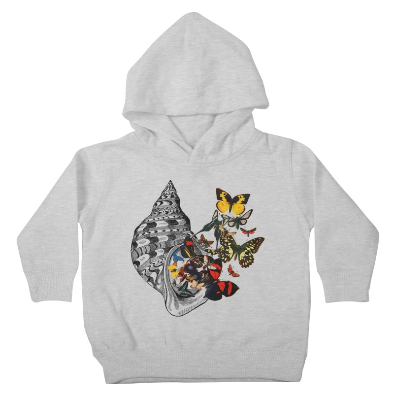 Beauty Within Kids Toddler Pullover Hoody by Wild Roots Artist Shop