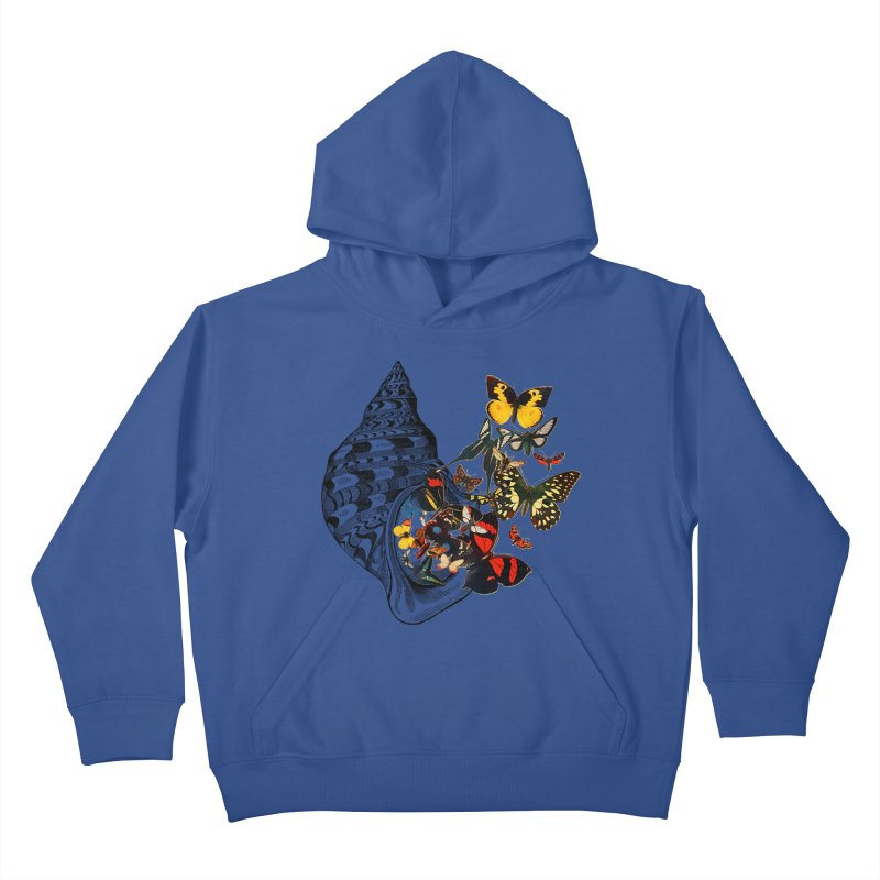 Beauty Within Kids Pullover Hoody by Wild Roots Artist Shop