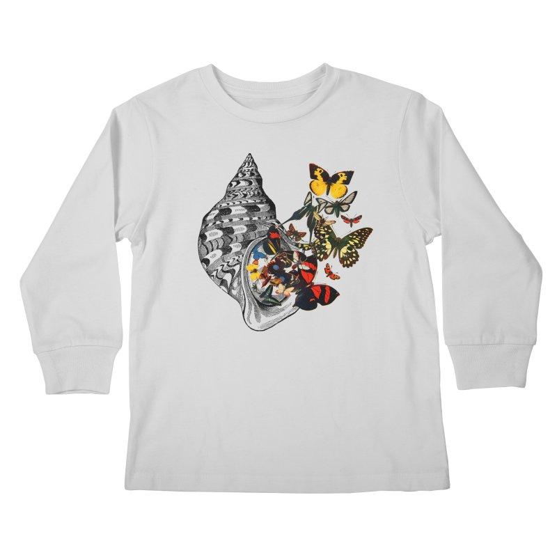 Beauty Within Kids Longsleeve T-Shirt by Wild Roots Artist Shop