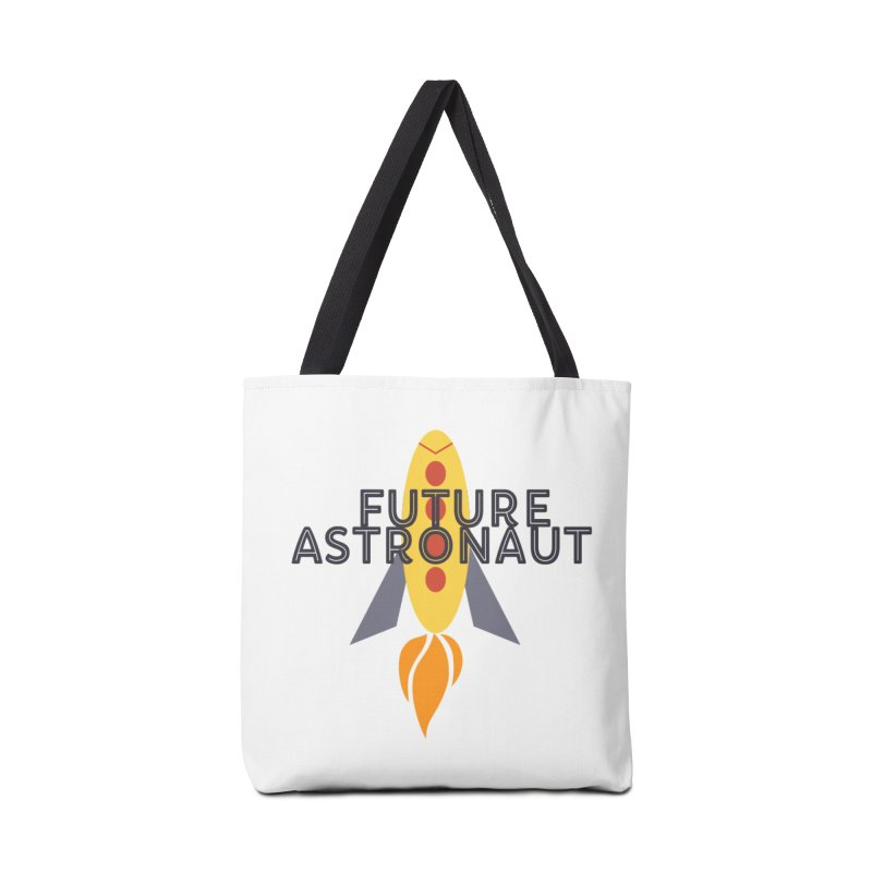 Future Astronaut Accessories Bag by Wild Roots Artist Shop