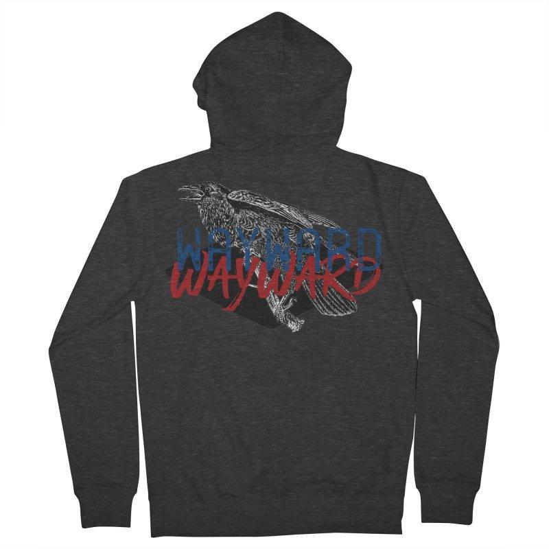 Wayward Women's French Terry Zip-Up Hoody by Wild Roots Artist Shop