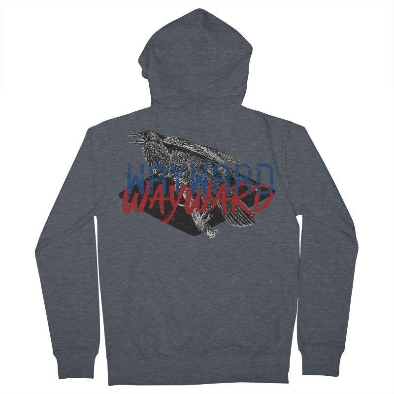 Wayward Women's French Terry Zip-Up Hoody by Wild Roots Artist Shop