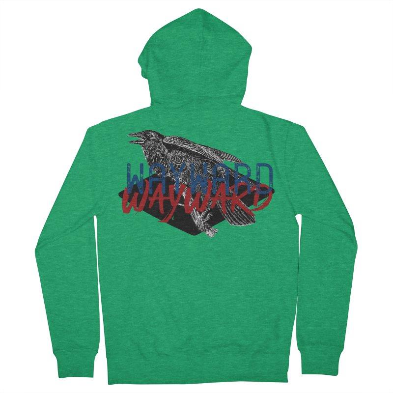 Wayward Men's Zip-Up Hoody by Wild Roots Artist Shop