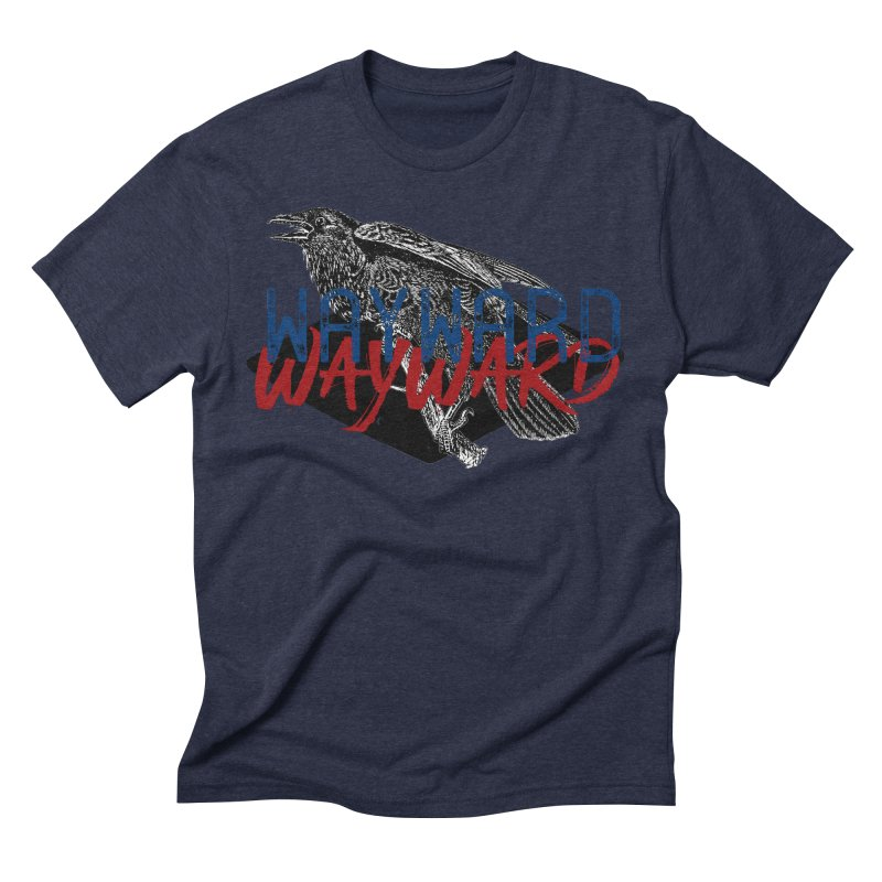 Wayward Men's Triblend T-Shirt by Wild Roots Artist Shop
