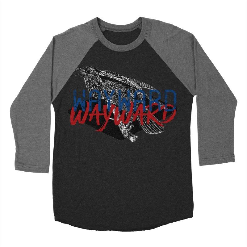 Wayward Women's Baseball Triblend Longsleeve T-Shirt by Wild Roots Artist Shop
