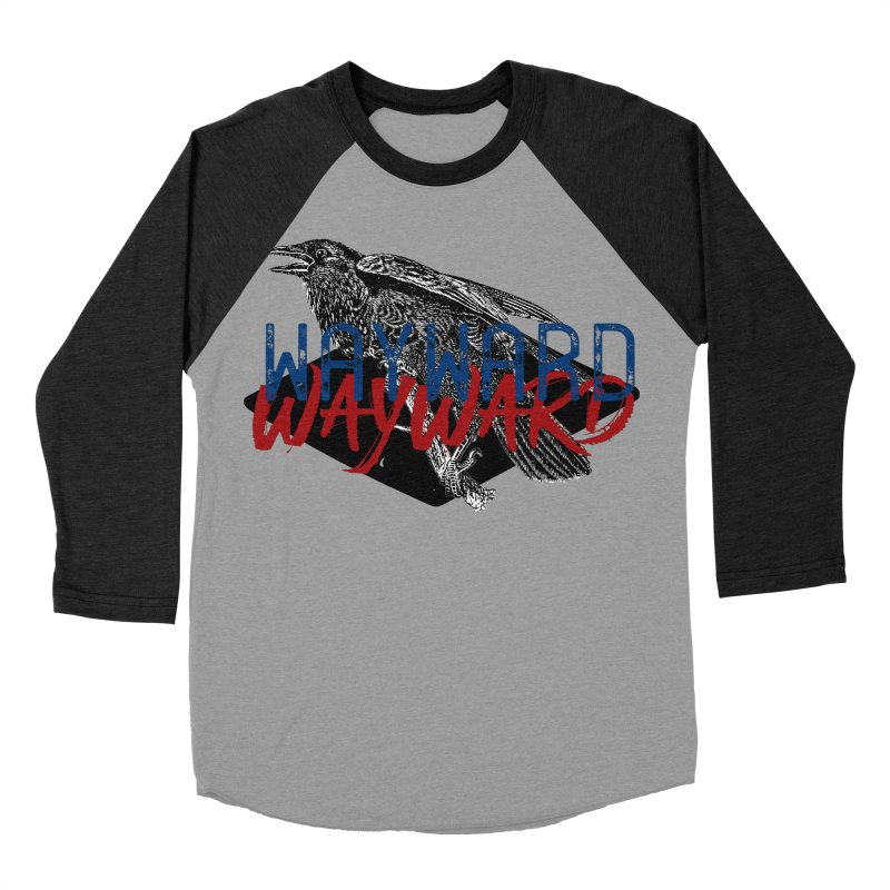 Wayward Men's Baseball Triblend Longsleeve T-Shirt by Wild Roots Artist Shop
