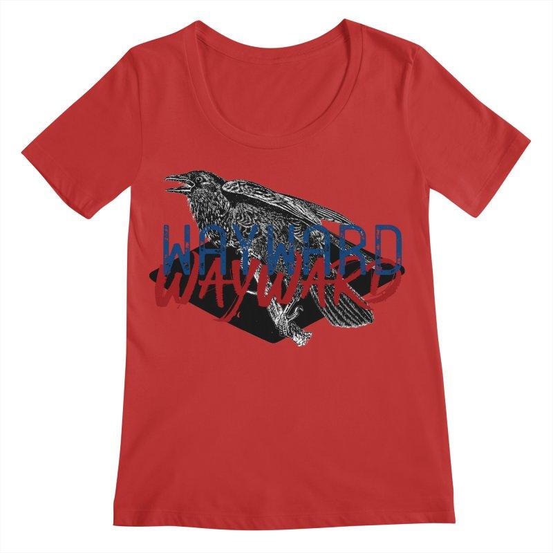 Wayward Women's Regular Scoop Neck by Wild Roots Artist Shop
