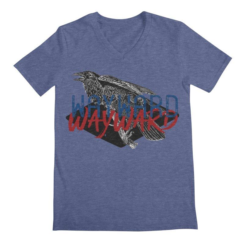 Wayward Men's Regular V-Neck by Wild Roots Artist Shop