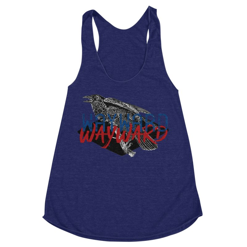 Wayward Women's Racerback Triblend Tank by Wild Roots Artist Shop