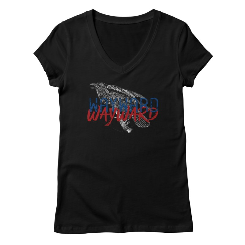 Wayward Women's V-Neck by Wild Roots Artist Shop
