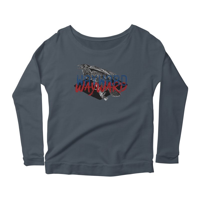 Wayward Women's Scoop Neck Longsleeve T-Shirt by Wild Roots Artist Shop