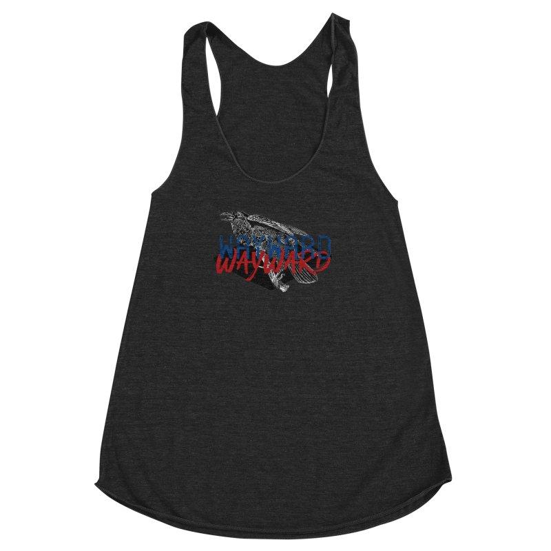 Wayward Women's Racerback Triblend Tank by Wild Roots Artist Shop