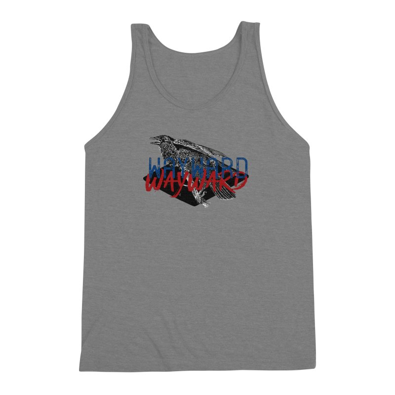 Wayward Men's Triblend Tank by Wild Roots Artist Shop