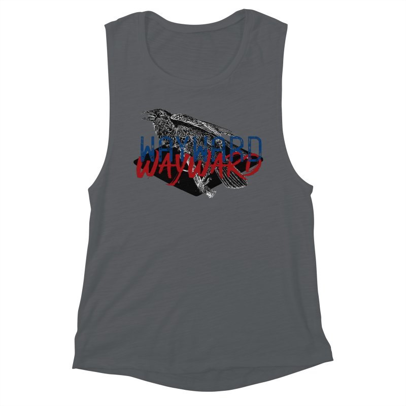 Wayward Women's Muscle Tank by Wild Roots Artist Shop