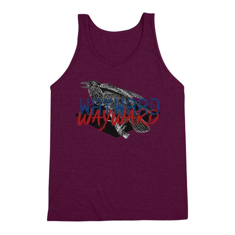 Wayward Men's Triblend Tank by Wild Roots Artist Shop