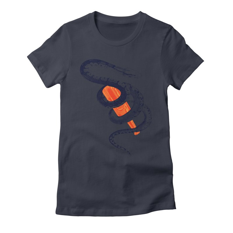 Drinking Buddy Version 2.0 Women's Fitted T-Shirt by Wild Roots Artist Shop