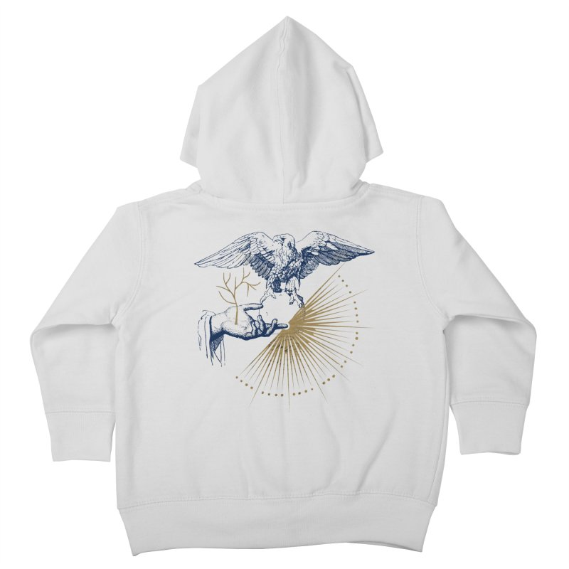 Ravenclaw House Kids Toddler Zip-Up Hoody by Wild Roots Artist Shop