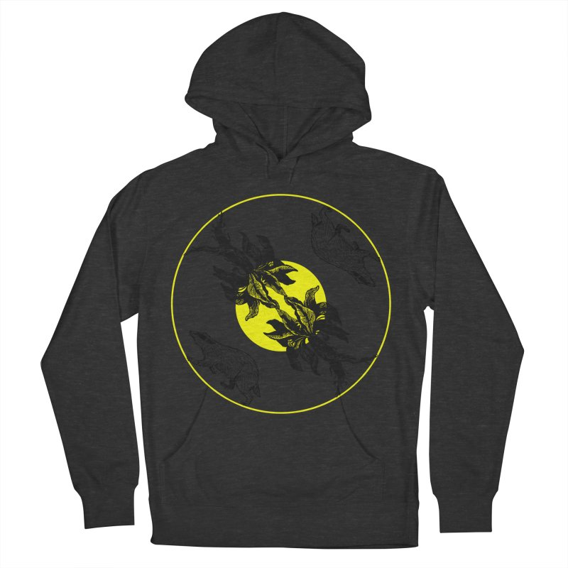 Hufflepuff House Women's Pullover Hoody by Wild Roots Artist Shop