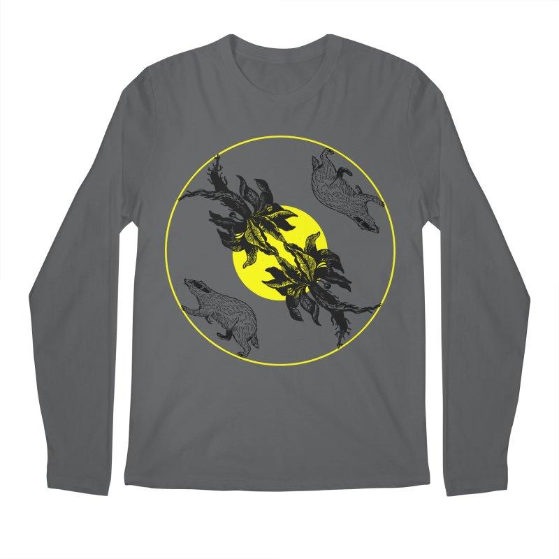 Hufflepuff House Men's Longsleeve T-Shirt by Wild Roots Artist Shop