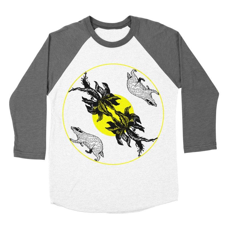 Hufflepuff House Men's Baseball Triblend T-Shirt by Wild Roots Artist Shop