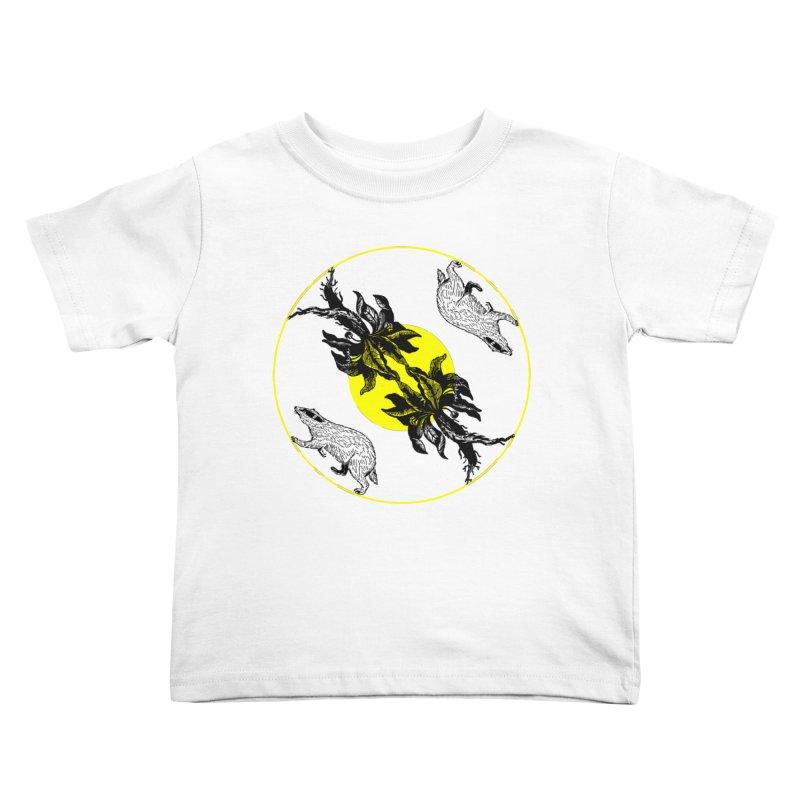 Hufflepuff House Kids Toddler T-Shirt by Wild Roots Artist Shop