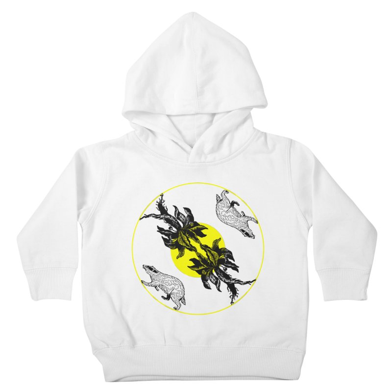 Hufflepuff House Kids Toddler Pullover Hoody by Wild Roots Artist Shop