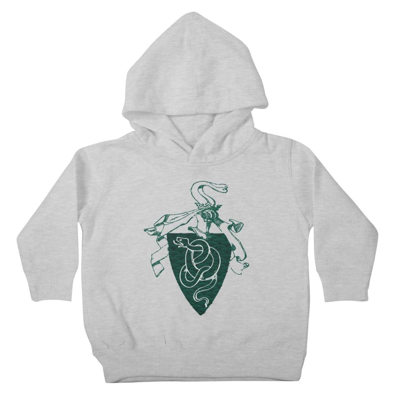 Slytherin House Kids Toddler Pullover Hoody by Wild Roots Artist Shop