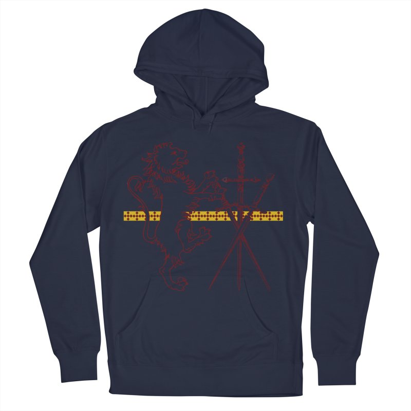 Gryffindor House Men's Pullover Hoody by Wild Roots Artist Shop