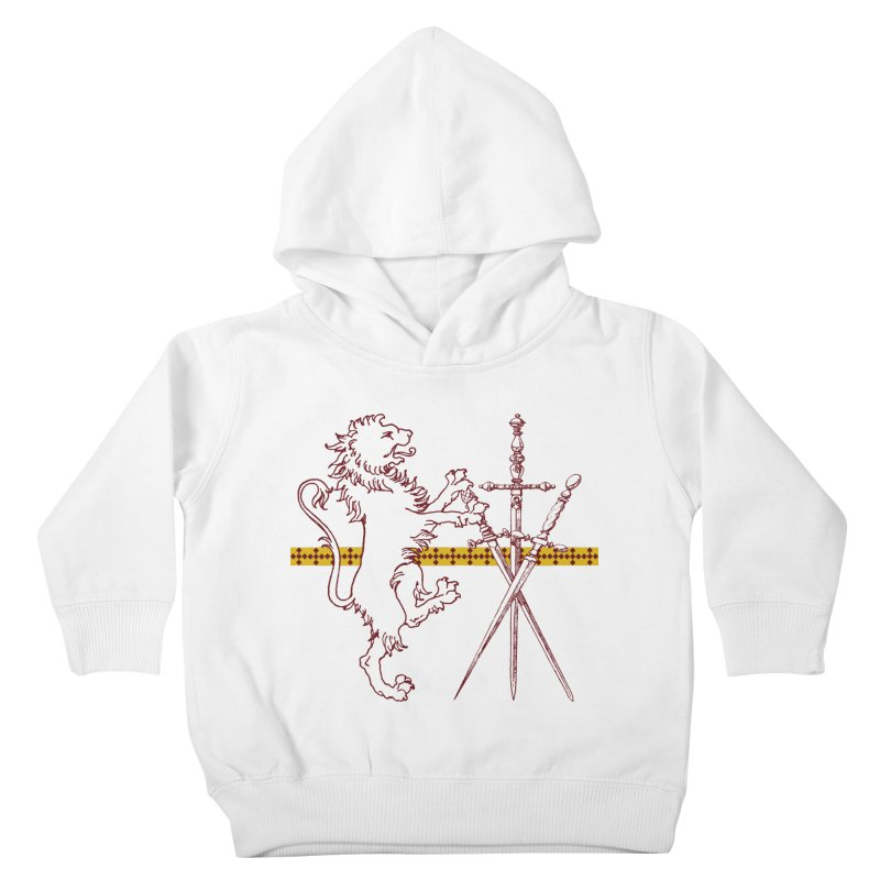 Gryffindor House Kids Toddler Pullover Hoody by Wild Roots Artist Shop