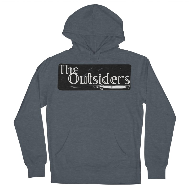 tHE oUTSIDERS Women's French Terry Pullover Hoody by Wild Roots Artist Shop