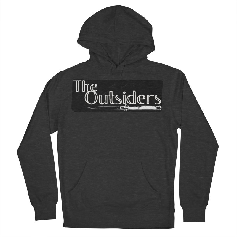 tHE oUTSIDERS Men's French Terry Pullover Hoody by Wild Roots Artist Shop