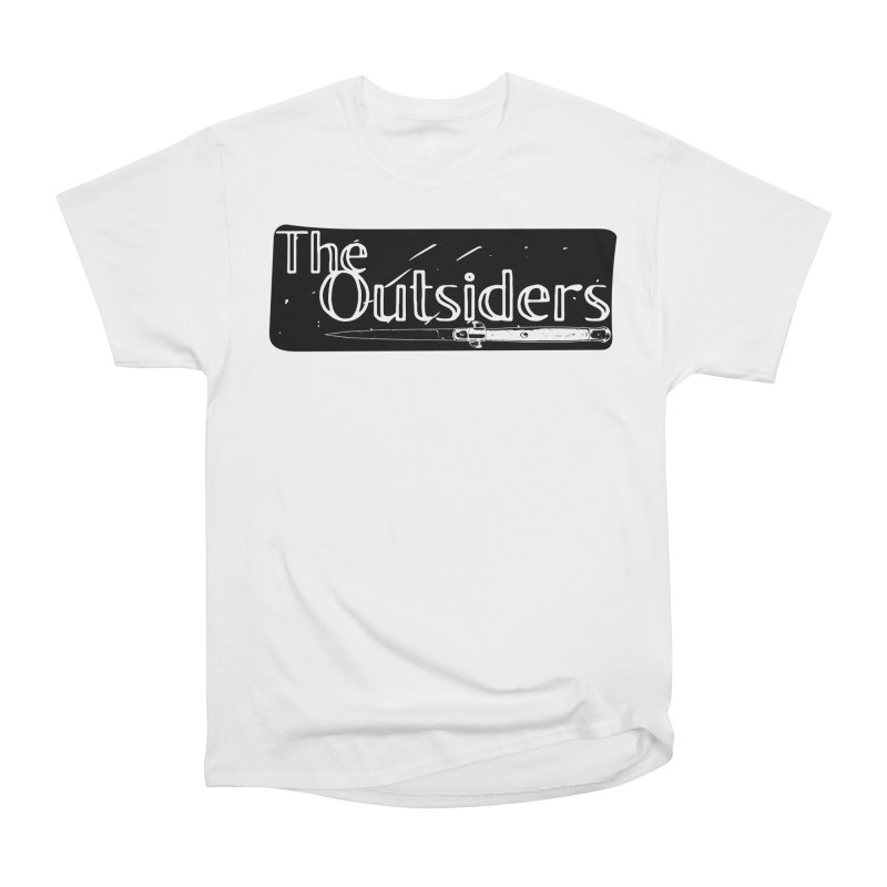 tHE oUTSIDERS Men's Heavyweight T-Shirt by Wild Roots Artist Shop