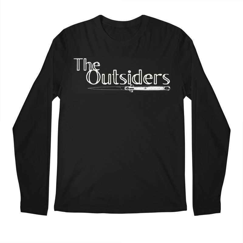 tHE oUTSIDERS Men's Longsleeve T-Shirt by Wild Roots Artist Shop