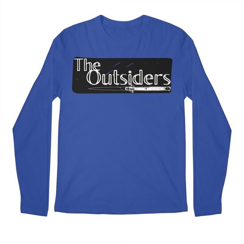 tHE oUTSIDERS Men's Regular Longsleeve T-Shirt by Wild Roots Artist Shop