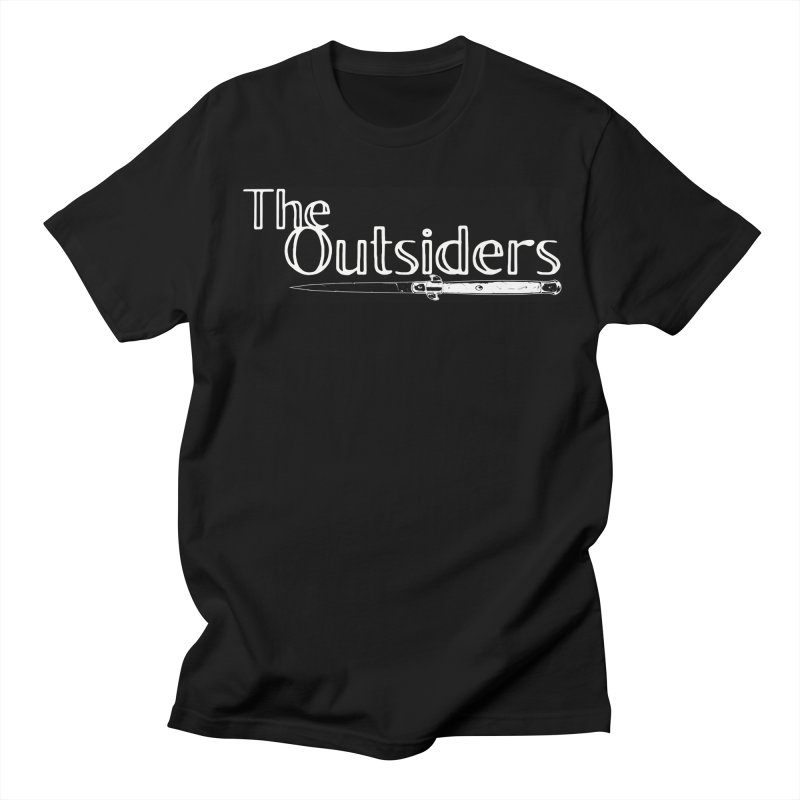 tHE oUTSIDERS Men's Regular T-Shirt by Wild Roots Artist Shop