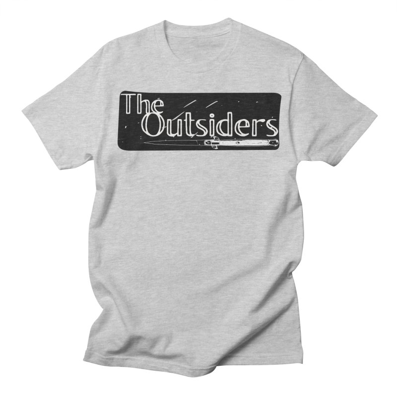 tHE oUTSIDERS Women's Regular Unisex T-Shirt by Wild Roots Artist Shop
